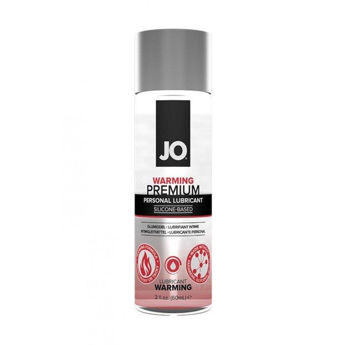 Возбуждающая смазка на силиконовой основе JO Premium Warming - 60 мл