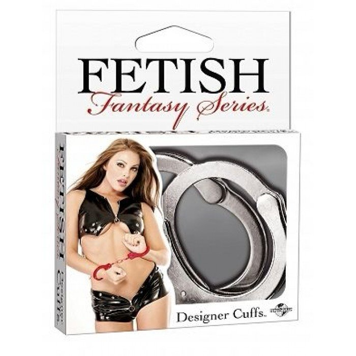 Наручники Designer Metal Handcuffs - серебро