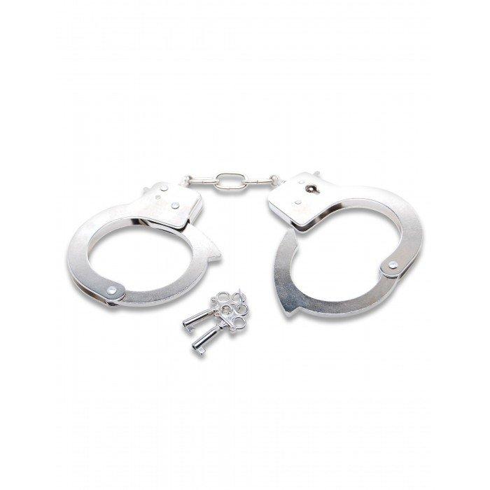 Наручники металлические с ключами Official Handcuffs