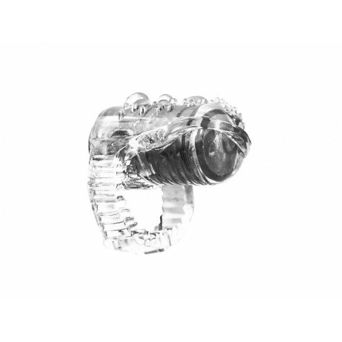 Вибро-насадка на язык Rings Teaser transparent - прозрачная