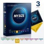 Презервативы My.Size 53 - 3 шт