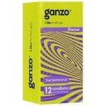 Презервативы Ganzo Sense для большей чувствительности - 12 шт