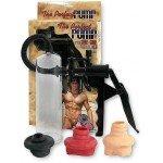 Вакуумная мужская помпа для тренировок пениса The Perfect Pump с тремя уплотнителями - 20 см