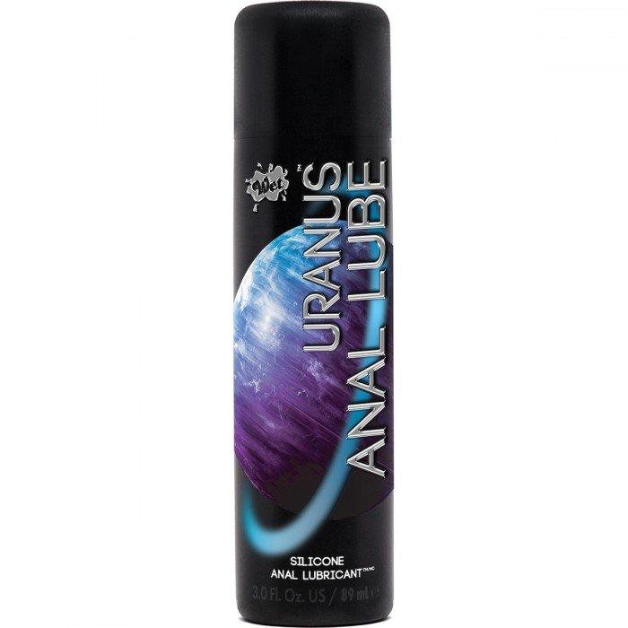 Смазка на силиконовой основе для супер скольжения Wet Uranus Anal Lube Silicone - 89 мл