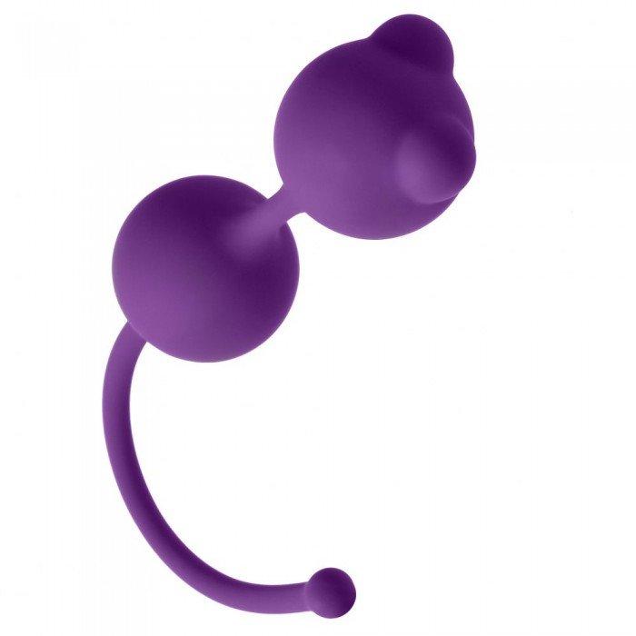 Вагинальные шарики Emotions Foxy фиолетовые