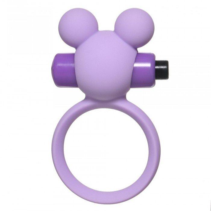 Эрекционное виброкольцо Emotions Minnie - фиолетовое