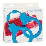Cиликоновые наручники Stretchy Cuffs Turquoise - голубые