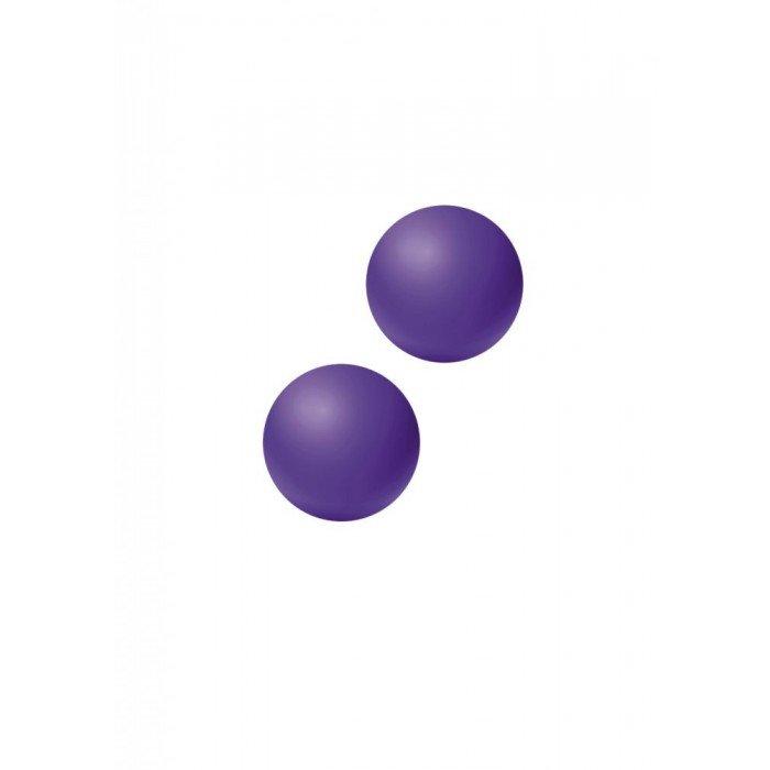 Вагинальные шарики без сцепки Emotions Lexy Large - фиолетовые - 3 см