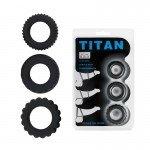 Набор эреционных колец Titan - имитация автомобильных шин