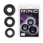 Набор эрекционных колец Ring - 3 кольца разного диаметра