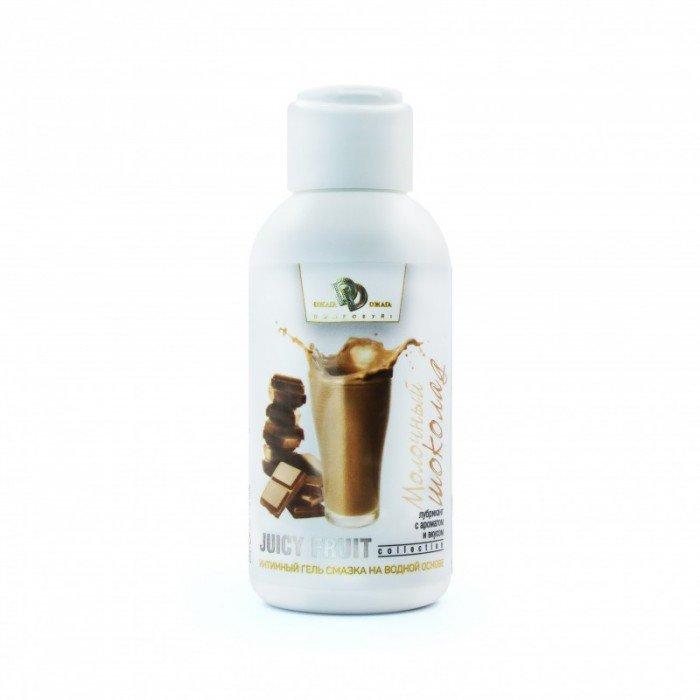 Смазка для орального секса на водной основе Juicy Fruit cо вкусом молочного шоколада - 100 мл