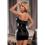 Облегающее платье Candy Girl со вставками на спинке и WetLook эффектом, plus size
