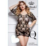 Эротическое платье в сеточку LeShali Queen Size