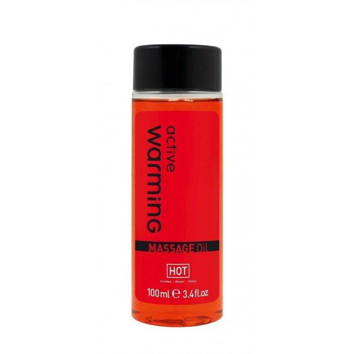 Разогревающее массажное масло для тела Active Warming - 100 мл