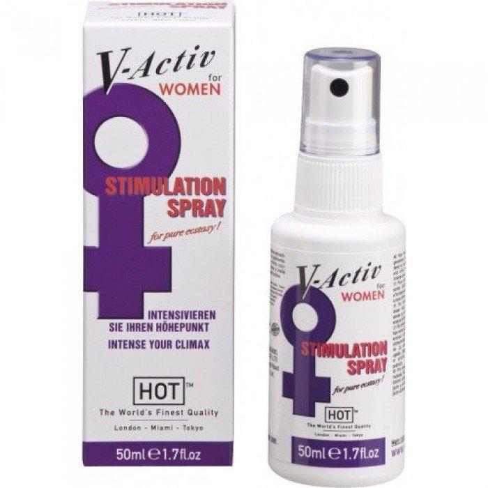 Спрей стимулирующий для женщин V-Activ - 50 мл