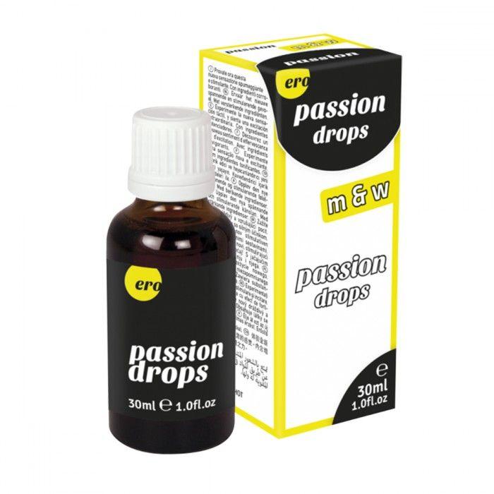 Возбуждающие капли для мужчин и женщин Passion Drops  (m+w) - 30 мл