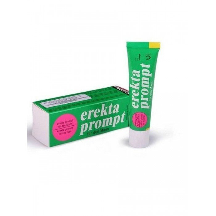 Возбуждающий мужской крем Erekta Prompt Fur Mann - 13 мл