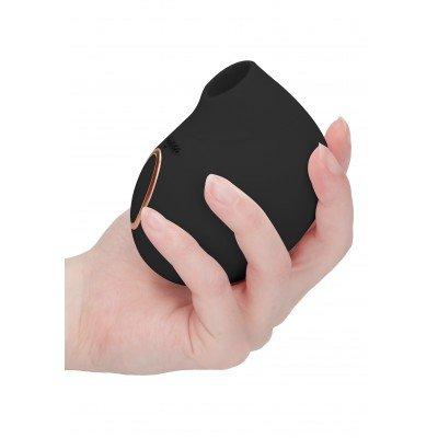 Клиторальный волновой стимулятор Irresistible Seductive - чёрный