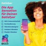 Вибратор для пар Satisfyer Double Joy с 2-мя моторами и управлением через приложение (смартфон) - фиолетовый