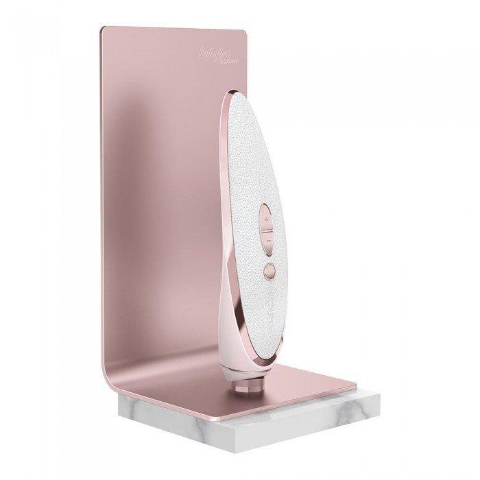 Вакуумно-волновой стимулятор с вибрацией Satisfyer Luxury Pret-A-Porter