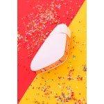Вакуумно-волновой вибростимулятор Satisfyer Love Triangle с управлением со смартфона - белый