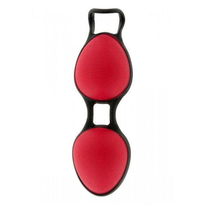 Вагинальные шарики Joyballs Secret со смещенным центром тяжести - красные