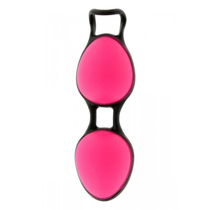 Вагинальные шарики Joyballs Secret со смещенным центром тяжести - розовые