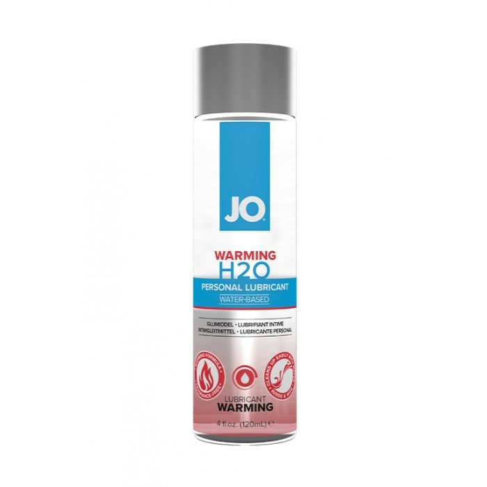 Возбуждающая смазка-лубрикант на водной основе JO Personal Lubricant H2O Warming - 120 мл