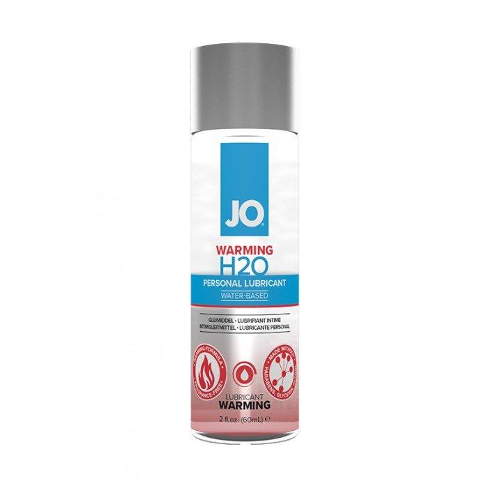Возбуждающий лубрикант-смазка на водной основе JO Personal Lubricant H2O Warming - 60 мл