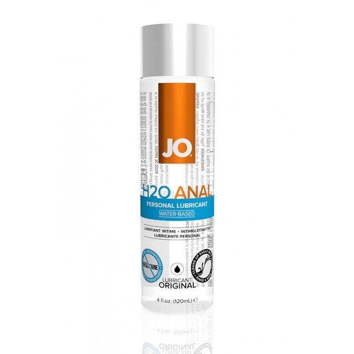 Анальная смазка-лубрикант на водной основе JO Anal H2O - 120 мл