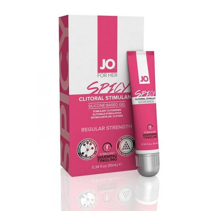 Возбуждающий гель для клитора сильного действия JO SPICY Clitoral Stimulant Wild - 10 мл