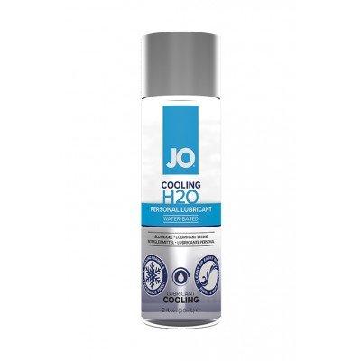 Охлаждающая смазка на водной основе JO Personal Lubricant H2O Cooling - 60 мл