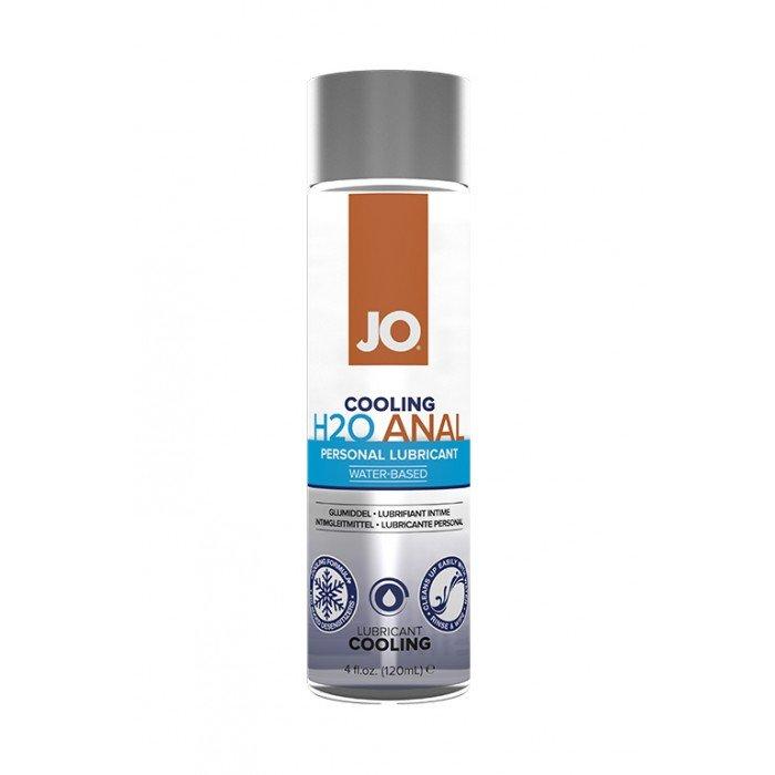 Анальная охлаждающая и обезболивающая смазка на водной основе JO Anal H2O Cool - 120 мл