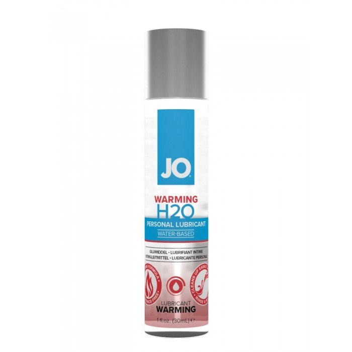 Возбуждающий лубрикант-смазка на водной основе JO Personal Lubricant H2O Warming - 30 мл