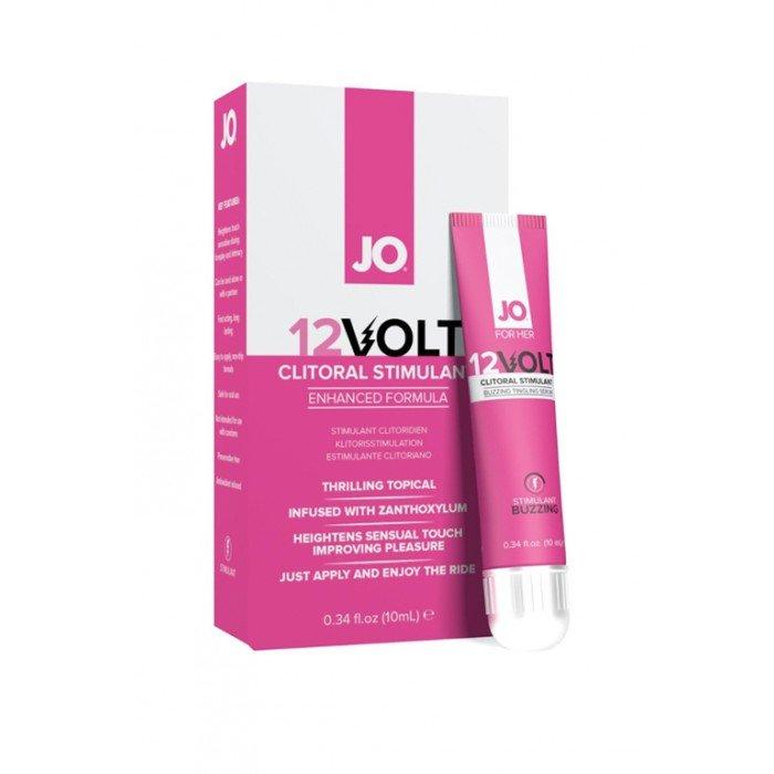 Возбуждающая сыворотка мощного действия JO12 Volt для женщин - 10 мл