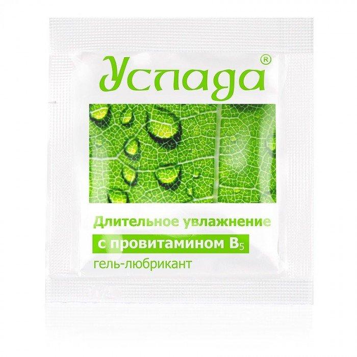 Гель-любрикант на водной основе Услада в одноразовой упаковке - 4 гр