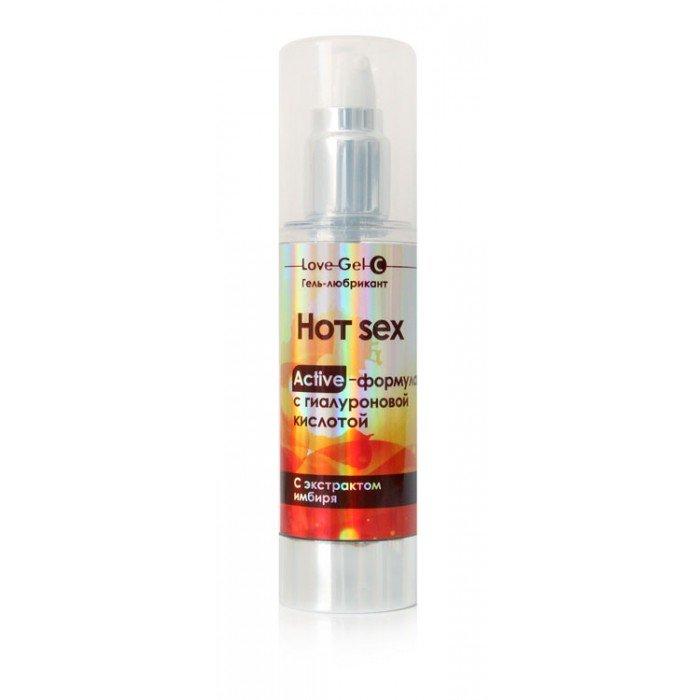 Разогревающий гель-лубрикант Hot Sex для усиления влечения - 55 гр