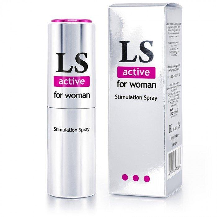 Спрей-стимулятор Lovespray Active для женщин - 18 мл