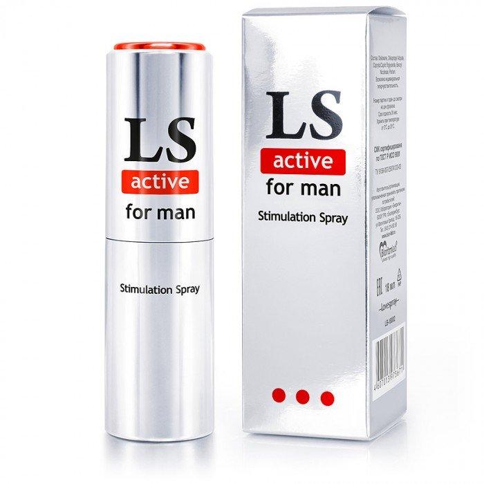 Спрей-стимулятор LOVESPRAY ACTIVE для мужчин - 18 мл
