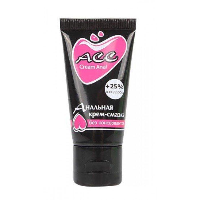 Анальная смазка-крем на силиконовой основе Creamanal АСС - 25 мл