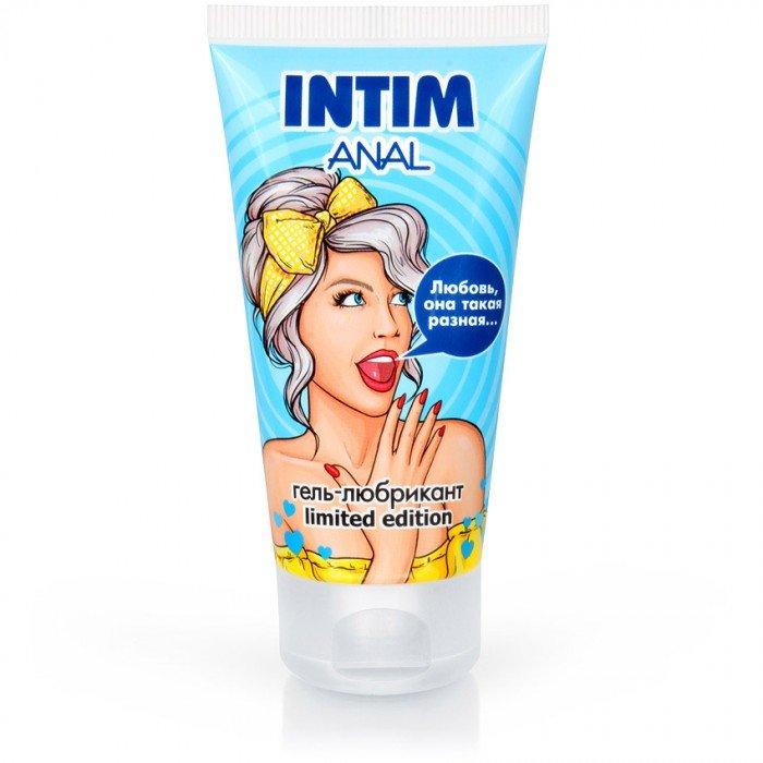 Анальная увлажняющая смазка-гель на водной основе Intim Anal Limited Edition - 50 гр