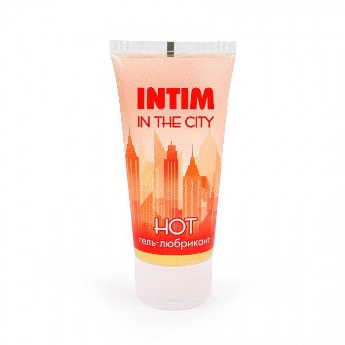Стимулирующая смазка- гель Intim Hot с имбирём - 60 гр