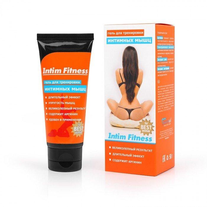 Гель INTIM FITNESS для тренировки вагинальных мышц женщин - 50 гр