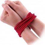 Веревка для связывания Bondage Rope хлопковая красная - 3 м