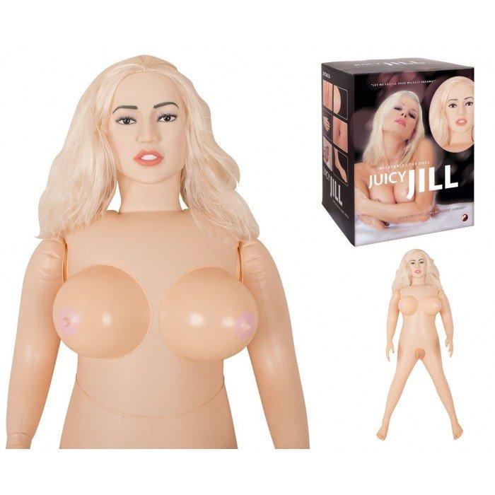 Кукла Juicy Jill с двумя любовными отверстиями
