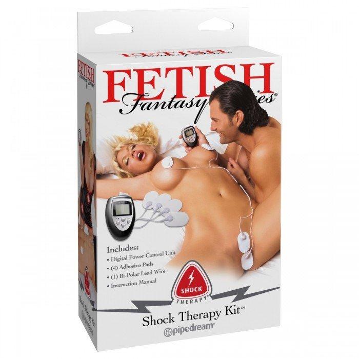 Набор электро-стимуляторов Shock Therapy Kit, белый