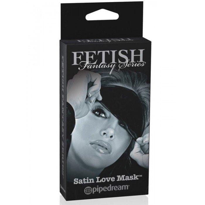 Маска атласная Satin Love Mask черная