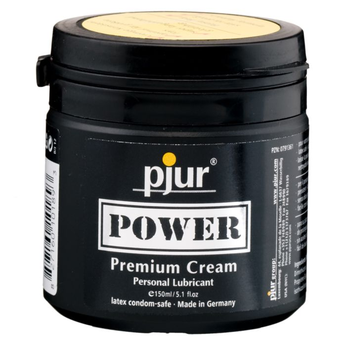 Cмазка для фистинга Pjur Power Premium Cream на силиконовой основе - 150 мл