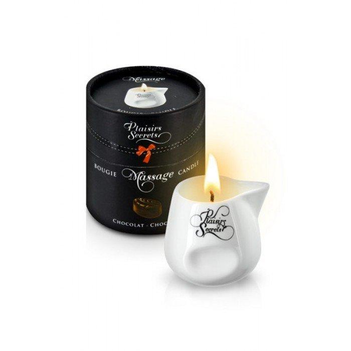 Массажная свеча с ароматом шоколада Bougie de Massage Gourmande Chocolat - 80 мл