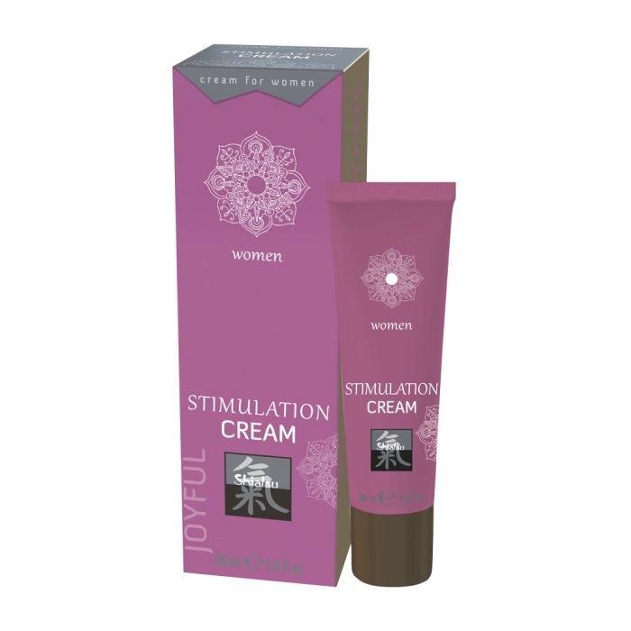 Возбуждающий крем для женщин Shiatsu Stimulation Cream Woman - 30 мл